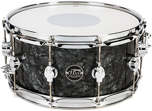 DW Performance Series Snare Drum - 6.5 Inches X 14 Inches Black Diamond FinishPly by DW