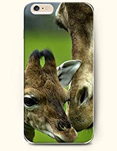 Case Cover For SamSung Galaxy S5 Mother Giraffe and Its Baby Giraffe