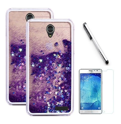 zte prelude blue phone case - 7