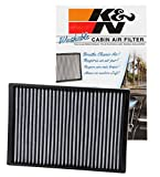 K&N VF3007 Washable & Reusable Cabin Air Filter Cleans and Freshens Incoming Air for your Chrysler, Dodge