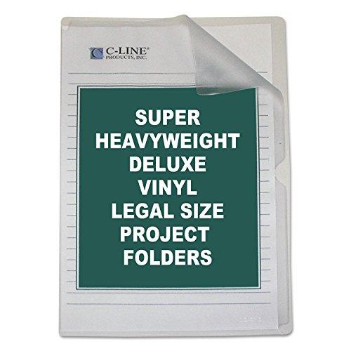 CLI62139 - C-Line Deluxe Non-Glare Vinyl Project Folder