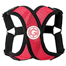 Gooby Choke Free Step-In Comfort X Dog Harness, Red
