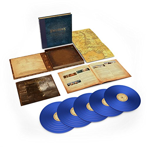 Kings Two Maps - The Lord Of The Rings: The Two Towers - The Complete Recordings (5LP 180 Gram Blue Vinyl)(Limited)