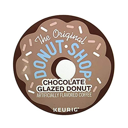 Donut Shop Chocolate Glazed Donut K-Cup Coffee (12 K-Cups) ... (Chocolate Covered Donuts)