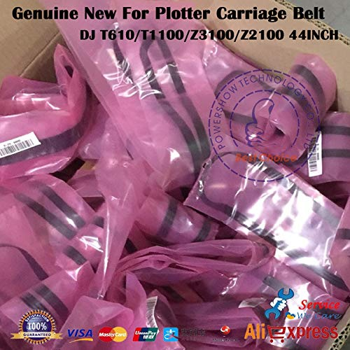 Yoton Original New C7770-60014 C7769-60182 Q6659-60175 Q5669-60673 For HP500 HP800 HP510 HP T610 T1100 Z2100 Z3100 Carriage Belt Kit - (Color: DJ 500 510 800 42in) by Yoton (Image #2)