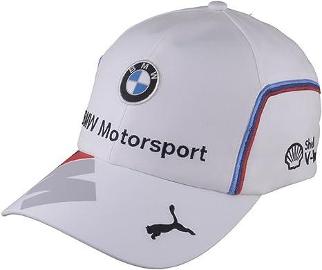 Gorra BMW Motorsport Oficial Equipo Blanca: Amazon.es: Deportes y ...