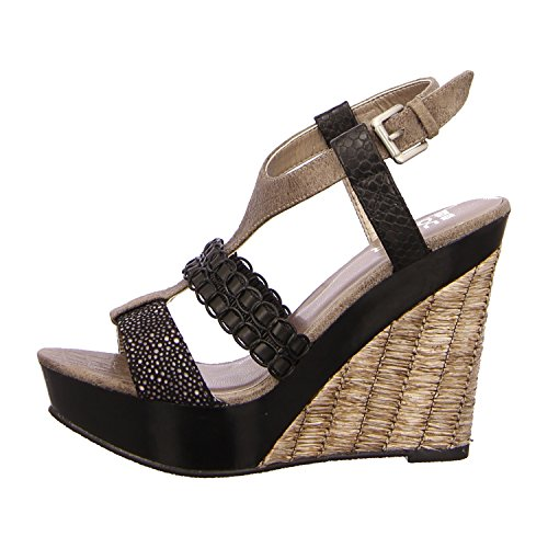 BULLBOXER 282003 BLACK - Sandalias de vestir de Material Sintético para mujer Negro - black/stone/black