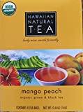 Hawaiian Natural Tea Mango Peach Tea Bags