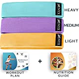 Booty Bands | Fabric Resistance Bands for Legs...