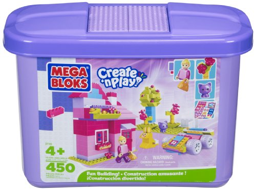 Mega Bloks Create 'n Play Fun Building (Girl), Baby & Kids Zone