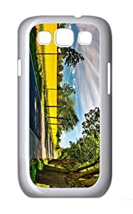 cover new Summer Road Fields PC White case/cover for Samsung Galaxy S3 I9300