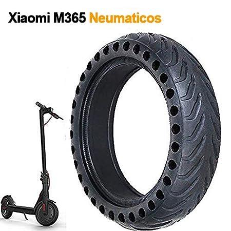 1PC 8 1/2 X 2 Rueda Maciza Compatible con Xiaomi M365, Neumáticos De Reemplazo Compatible con Xiaomi M365 Patinete Electrico