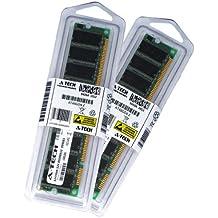 512MB Kit (256MB x 2) SDRAM PC100 DESKTOP Memory Module (168-pin DIMM, 100MHz) Genuine A-Tech Brand