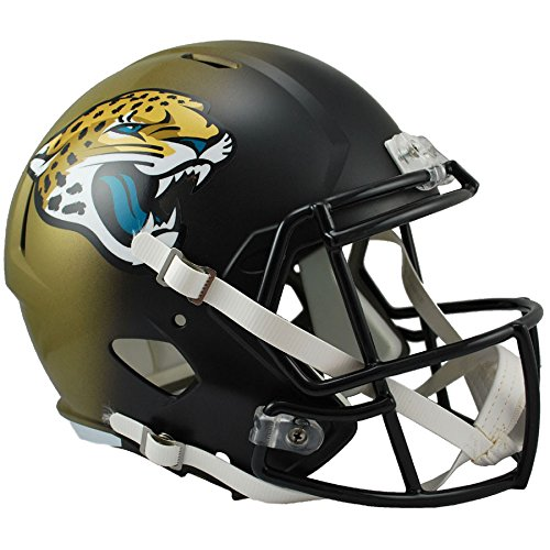 Jacksonville Jaguars Officially Licensed Speed Full Size Replica Football Helmet (Jacksonville Jaguars Football Helmet)