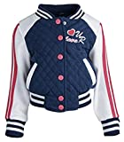 Urban Republic Baby Girls Jersey Quilted Varsity Jacket Review and Comparison