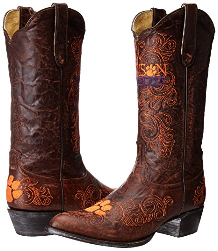 Donne Ncaa 33 Cm Clemson University Tronco Gameday Ottone