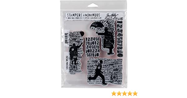 Stampers Anonymous CMS Set StampersA Cling Stamp THoltz Sideshow