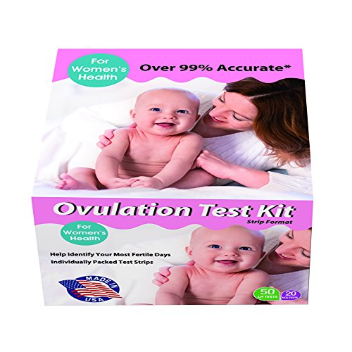 50 Ovulation Test Strips & 20 Pregnancy Test Strips - Made In USA - Accurate Pregnancy And Ovulation Test Strips Combo Kit + Our Free Pregnancy Support Program