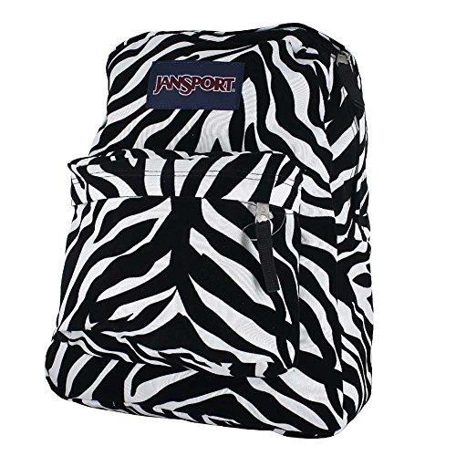 Jansport High Stakes Backpack - Black Miss Zebra, OS
