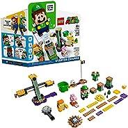 LEGO Super Mario Adventures with Luigi Starter Course 71387 Building Kit; Collectible Toy Playset for Creative