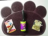 Scotch-Brite 'Pet Hair Roller' Scoth Brand Adhesive, Hartz 'Stunt Pilot' Cat Toy, Peerless Pet 'Cat Litter Mat', American Classic 'Catnip House Mouse' Solo Play Cat Toy