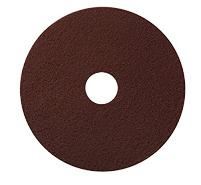 """Glit / Microtron 420720 Chemical Free Stripping or Deep Scrub Pad, 20"""", Maroon (Pack of 10)"""