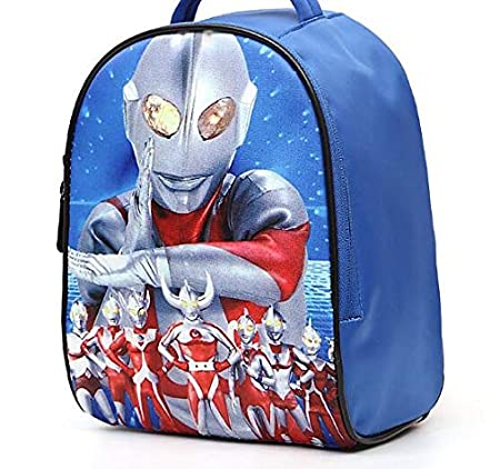 Amazon.com: 12-inch Mochila Kids Bags 3D Children School Ultraman Cartoon Backpack Infantile Nursery Bag: Kitchen & Dining