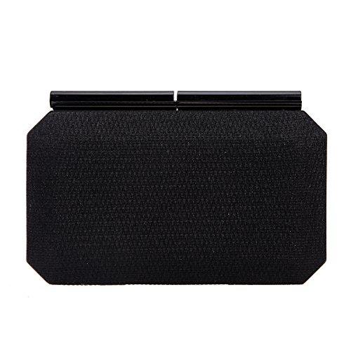 black evening purse crystal - 4