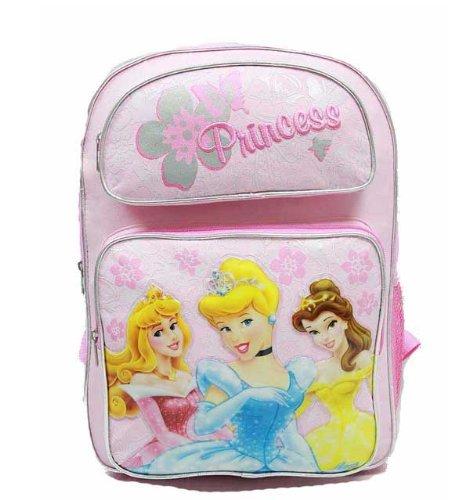 Backpack - Disney - Princess - Large Backpack - Pink