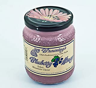 product image for 16oz Gift Jar Old-fashioned Creamed Style Blueberry Honey