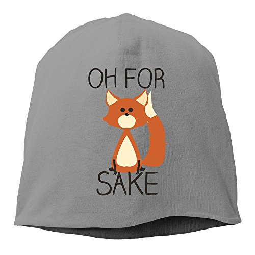 [YUVIA Oh For Fox Sake Men's&Women's Patch Beanie Hip-HopDeepHeather Hats For Autumn And Winter] (Gill Man Costume)