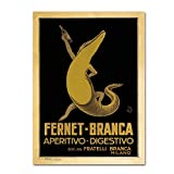 Fernet Branca by Vintage Apple Collection, 18x24-Inch