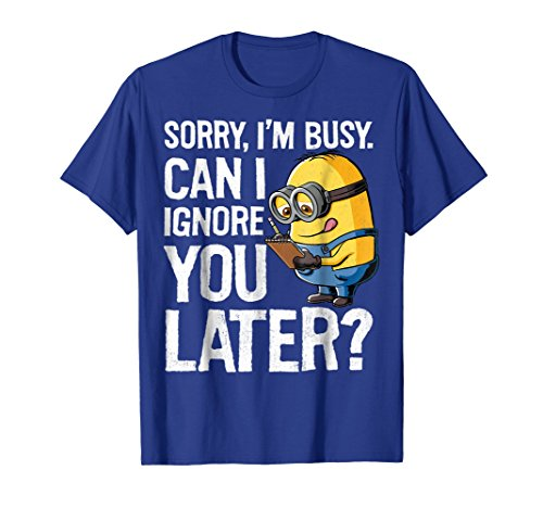 Despicable Me Minions Can I Ignore You Later Graphic T-Shirt -