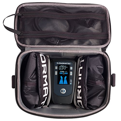 NormaTec Carry Case Premium Hard Carry Case Custom Designed to Fit The Pulse Recovery System Control Unit, Attachments, and Accessories (not Included) by NormaTec (Image #2)