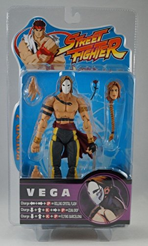 Street Fighter Round 2 Vega (Gray Variant) Action Figure