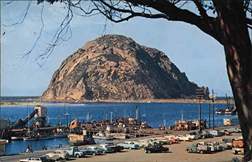 Morro Rock Morro Bay, California Original Vintage Postcard