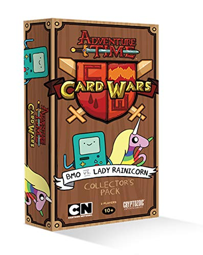 Adventure Time Card Wars Collector's Pack 2: BMO vs. Lady Rainicorn Game ()