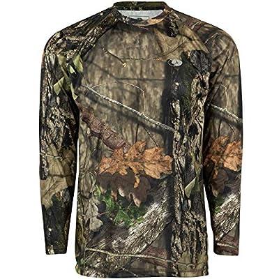 Mossy Oak Youth Camo Performance Long Sleeve Tech Hunting Shirt