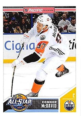 2018-19 Panini NHL Stickers  534 Connor McDavid Edmonton Oilers Hockey Card 0a5700d17