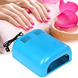 Wakrays Nail Polish LED Light 36W Dryer Acrylic Gel Shellac Manicure Curing Lamp