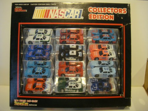 Nascar Stock (NASCAR Collectors Edition 1:64 Scale Die-Cast STOCK CAR Replicas [12-pack])