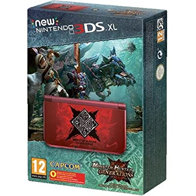 New Nintendo 3DS XL Monster Hunter Generations Limited Edition EUROPEAN VERSION
