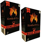 Beef Bone Broth by Kettle & Fire - 100 Percent Grass-fed, Organic, Collagen-rich Beef Bone Broth 2-Pack