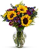 Benchmark Bouquets Flowering Fields, With Vase (Fresh Cut Flowers): more info