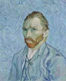 Vincent van Gogh (Self Portrait, 1889) Hand-Painted Art Reproduction with Oil on Canvas (25.6x21.3 in) (65x54 cm)