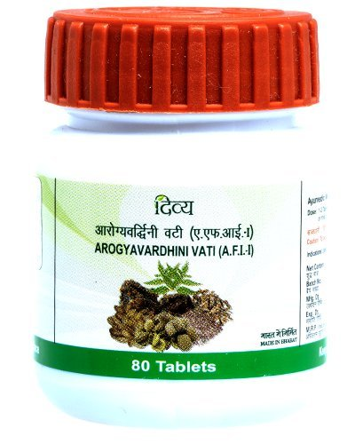 3 x Patanjali Arogyavardhini Vati - 80 Tablets