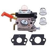 KESOTO Carburetor Kit + Gasket Primer Bulbs for Stihl Hedge Trimmer hs81 hs81r hs81rc hs81t hs86 hs86r hs86t