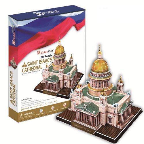 UPC 693257014663, Ezhishop saint isaac's cathedral DIY 3D Puzzle Model Toy-105 pieces