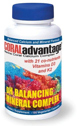 Complexe de calcium CORALadvantage Marine Corail, Capsules - 180 ch