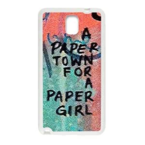 Happy a paere town for a paper girl Phone For LG G2 Case Cover